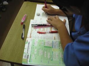 2学期中間考査準備
